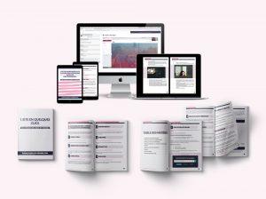 1 site en quelques clics digital et workbook sur fond rose